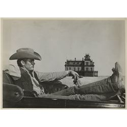 James Dean (5) photographs from Giant.