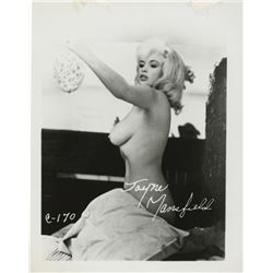 Jayne Mansfield (17) extremely risqué men's magazine cheesecake photographs.
