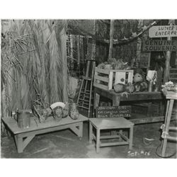 South Pacific set continuity photograph keybook.