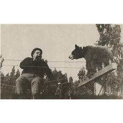 Roscoe 'Fatty Abuckle' and Minta Durfee archive of photos, ephemera regarding Arbuckle's accusation.