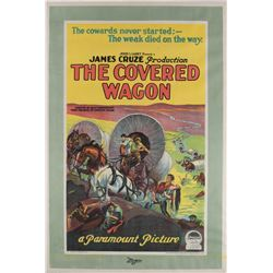 The Covered Wagon 1-sheet poster.