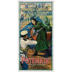 Battleship Potemkin first US release 3-sheet poster.