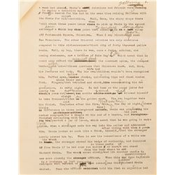 Darryl F. Zanuck's personal copy of the 1927 screenplay of  The Jazz Singer and treatment.