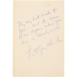 Hollywood Insider Stuart Oderman personal collection of (12) Charlie Chaplin & Lillian Gish ephemera
