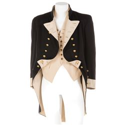 Charles Laughton 'Captain Bligh' Royal Navy officer coat and vest from Mutiny on the Bounty.