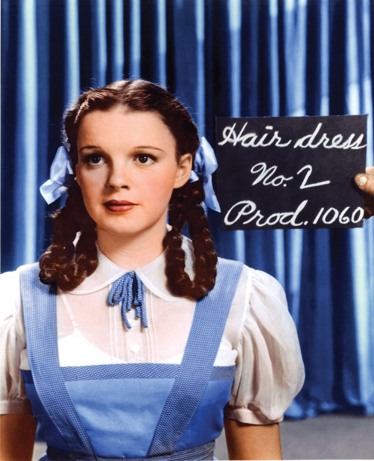 Judy Garland Dorothy Gale Jumper And Blouse Worn First Two Weeks Of Filming From The Wizard Of Oz