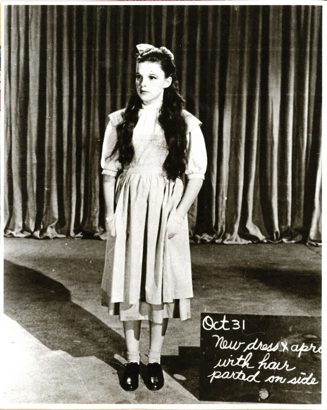 Judy Garland Dorothy Gale Test Gingham Apron For The Wizard Of Oz