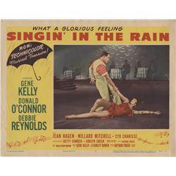 Singin' in the Rain (5) lobby cards.