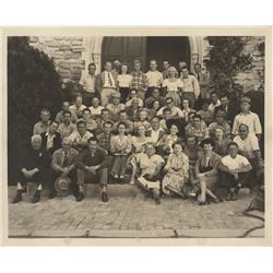 Marilyn Monroe extremely rare cast and crew photograph from her first film, Scudda Hoo! Scudda Hay!