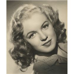 Norma Jeane Dougherty (Marilyn Monroe) signed photograph inscribed to her surrogate parents.
