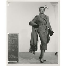 Gentlemen Prefer Blondes partial wardrobe bible of designer Travilla with (24) costume test photos.