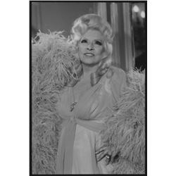 Sextette (12) oversize contact sheets of Mae West and cast.