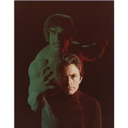 The Incredible Hulk collection of (8) behind the scenes photos of Bill Bixby and Lou Ferrigno.