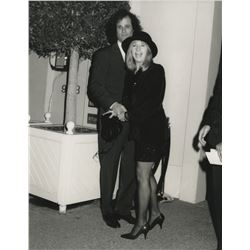 Celebrity Photo Agency collection (30+) paparazzi photographs of top 1970s-1990s newsworthy stars.