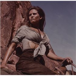 The Professionals (6) color transparencies including glamour shots of Claudia Cardinale.
