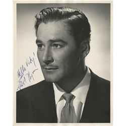 Collection of (60+) signed photographs of Golden Age stars from MGM Costume matron Vicky Nichols.