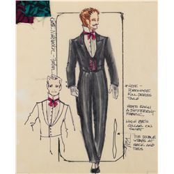 Ret Turner (11) costume sketches for an ice show including The Nutcracker.