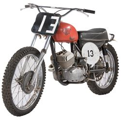 Paul Newman 'Hank Stamper' 1967 CZ 250 motorcycle fromSometimes a Great Notion.