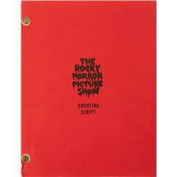 Rocky Horror Picture Show shooting script signed by Barry Bostwick 'Brad'.