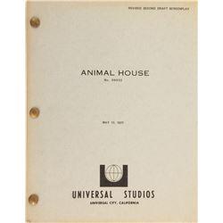 Animal House Revised Second Draft Script.