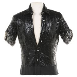 Roy Scheider 'Joe Gideon' signature sequined shirt from the 'Goodbye Life' finale of All That Jazz.