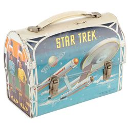 Star Trek: The Original Series vintage 1968 lunchbox.