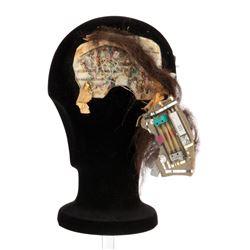 Brent Spiner 'Data' illuminating head appliance from Star Trek: The Next Generation.