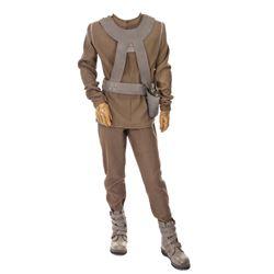 'Vidiian' (5) piece costume from Star Trek: Voyager, including a Vidiian 'organ harvester'.