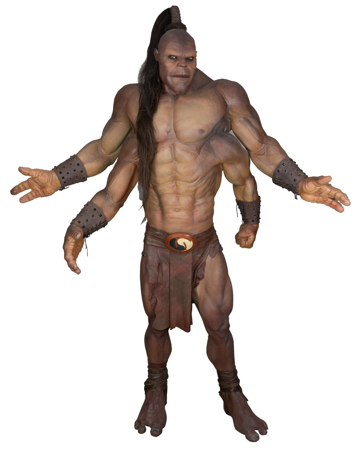 Goro Screen Used Costume From Mortal Kombat On A Lifesize Display