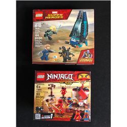 LEGO LOT (MARVEL SUPER HEROES 76101/ NINJAGO LEGACY 70680)