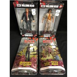 AMC THE WALKING DEAD ACTION FIGURES LOT