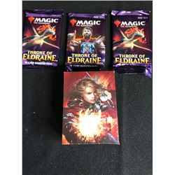 MAGIC THE GATHERING TRADING CARDS PACKS LOT