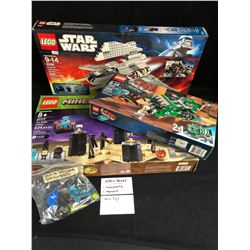 LEGO LOT (OPEN BOXES COMPLETE W/ MANUALS)