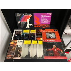 VINYL RECORD LOT (THE CLASSICS!/ WILLIAM TELL OVERTURE...)