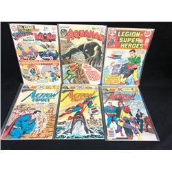 DC COMICS BOOK LOT (AQUAMAN/ ACTION COMICS...)