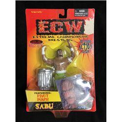 ECW GET EXTREME WRESTLING ACTION FIGURE (SABU)
