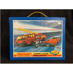 MATCHBOX CARRY CASE W/ MATCHBOX DIE-CAST CARS