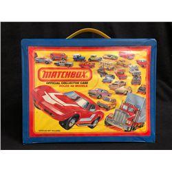 MATCHBOX CARRY CASE W/ MATCHBOX DIE-CAST CARS