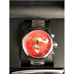 LIMITED EDITION INVICTA SUPERMAN WRIST WATCH W/ BOX & PAPERS