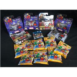 MARVEL MINIMATES/ LEGO MINIFIGURES LOT