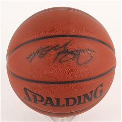 KOBE BRYANT SIGNED SPALDING BASKETBALL W/ COA