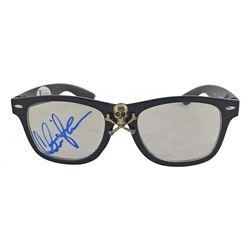 "Charlie Sheen Signed ""Major League"" Movie Prop Replica Glasses (Beckett COA)"