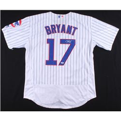 Kris Bryant Signed Chicago Cubs Jersey (Fanatics Hologram & MLB Hologram)