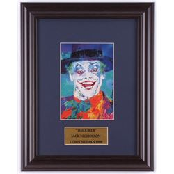 "LeRoy Neiman ""The Joker"" Jack Nicholson 15.5x19 Custom Framed Print Display"