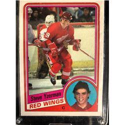 1984 O-Pee-Chee #67 Steve Yzerman Rookie