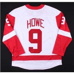 GORDIE HOWE SIGNED RED WINGS JERSEY w/ COA