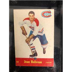 1955-56 Parkhurst #44 Jean Beliveau