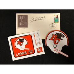 BC LIONS COLLECTIBLE'S LOT