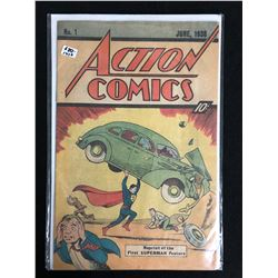 ACTION COMICS #1 (DC COMICS) 1976 *REPRINT OF THE 1ST SUPERMAN FEATURE*