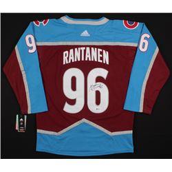 Mikko Rantanen Signed Avalanche Jersey (Beckett COA)